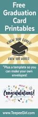 free graduation cards plus envelope template congratulations