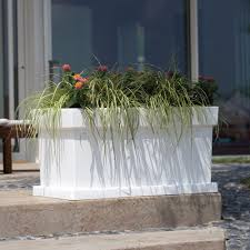 vaso resina bianco vaso nicoli in resina di polietilene themis cassetta fiorinmaurizio