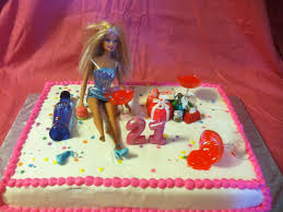 yaya creations 3 barbie 21st birthday cake