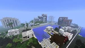 Modern City Minecraft Modern City Map Presentation And Download Youtube