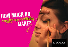 how much is a makeup artist liveglam