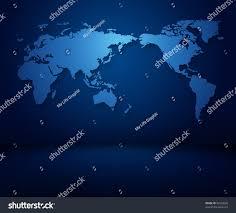 Dark Sky Map Modern Blue World Map Wallpaper Dark Stock Illustration 93530626