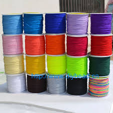 thread cord bracelet images 20 colors 20m nylon cord thread chinese knot macrame cord bracelet jpg