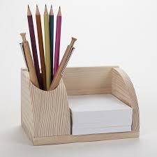 organiseur bureau petit organisateur de bureau en bois porte cartes et poste stylos