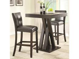 Dining Room Bar Table by Coaster Bar Units And Bar Tables Three Piece Bar Height Table And