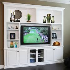 entertainment centers u0026 built in niches transitional family