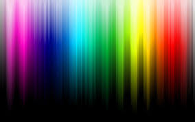 Color Spectrum Minimalistic Multicolor Rainbows Black Background Color Spectrum