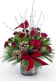 christmas floral arrangements christmas flowers in point pleasant nj