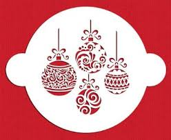 cheap christmas cake stencil find christmas cake stencil deals on