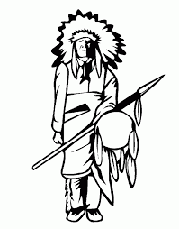kids n fun com 14 coloring pages of native americans