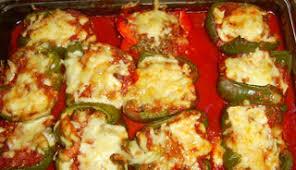 cuisiner des poivrons verts poivrons verts farcis recettes du québec