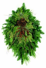 fresh christmas greens