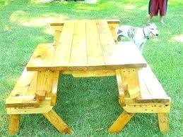 picnic table converts to bench convert a bench folding picnic table aala info