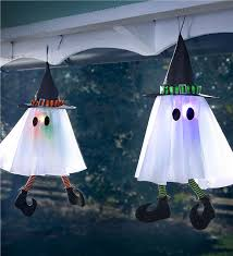 witch ghost with light halloween decor plow u0026 hearth
