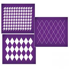 fabric patterns essential fabric patterns mesh stencil set