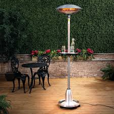 infrared heaters outdoor patio outdoor electric heater electric patio heater with table halogen