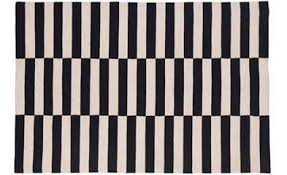 Black And White Braided Rug Rug Black And White Stripe Rug Wuqiang Co