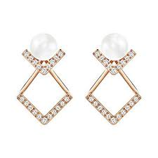 pierced earrings edify pierced earrings jewelry swarovski online shop