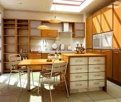modern kitchen design with brown kitchen cabinets kitchen