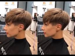 how to creative short women u0027s haircut tutorial hairbrained