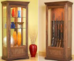How To Make A Gun Cabinet by Wood Gun Display Cabinet Roselawnlutheran