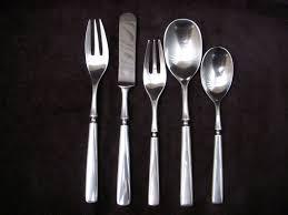 dansk anvil flatware 30 pieces 6 5 piece place settings