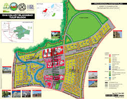 Islamabad Map Dha Valley Islamabad A Project Of Defence Housing Authority