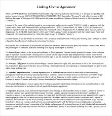 linking agreement template 6 free documents download in pdf doc