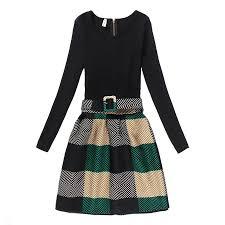 online get cheap plaid vintage dress kids aliexpress com
