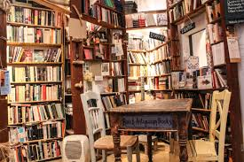 atlantis books on santorini is potentially the coolest bookstore