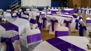 Chair Covers For Wedding Wedding Chair Covers At The Kelham Hall Wedding Decor Youtube