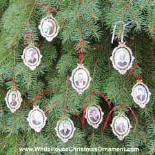 White House Christmas Ornaments Collection by 2004 American President Collection Complete Set Of 10 Ornaments