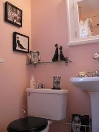 Black And Pink Bathroom Ideas 1930s Bathroom Design 1930s Bathroom Black Sink And Bathroom