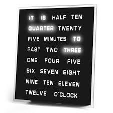 led word clock weird stuff buyweirdshit com