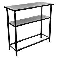 portable sofa table trademark global deluxe portable console table u0026 reviews wayfair