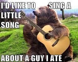 Meme Bear - a musical bear