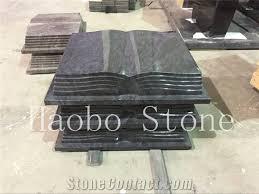 gravestone prices china quarry cheap bahama blue granite book shaped