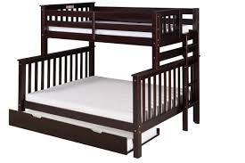 Bunk Beds With Trundle Camaflexi Santa Fe Mission Tall Bunk Bed With Trundle U0026 Reviews