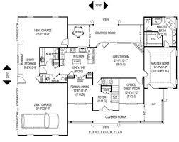 farmhouse style house plan 4 beds 2 50 baths 2705 sq ft plan 11 227