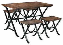 dining room stools amazon com ashley furniture signature design freimore dining room