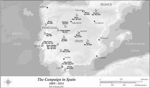 Valladolid Spain Map by Napoleon And Spain Ii Weapons And Warfare