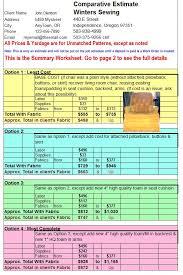 Upholstery Yardage Chart Giving Estimates Upholstery Resource