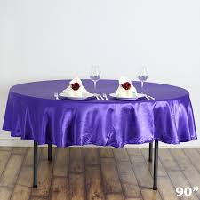 wedding table covers 90 satin tablecloths wedding party fundraiser table linens