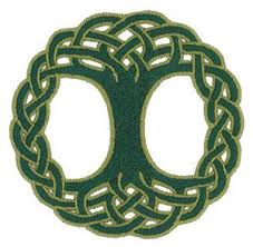 celtic knot tree of embroidery design by starbird inc