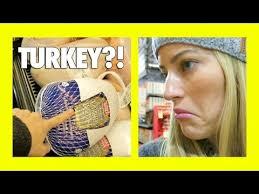 thanksgiving turkey shopping ijustine