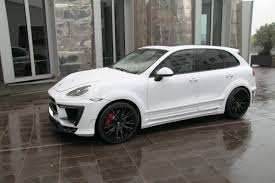 porsche suv white 2017 porsche cayenne the white dream edition by anderson germany