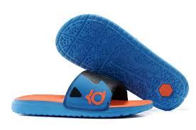 kd slides best discount kd slides royal blue black vizi orange 631402 480