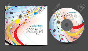 design cd cover cd cover design template with copy space illustration royalty