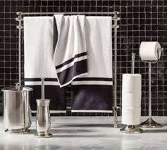 Floor Towel Racks For Bathrooms by Mercer Towel Stand Pottery Barn