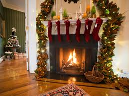 how to hang stockings on a mantle
